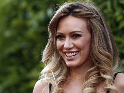 Die junge Mutter Hilary Duff sieht die Gewichtszunahme durch die Schwangerschaft gelassen.