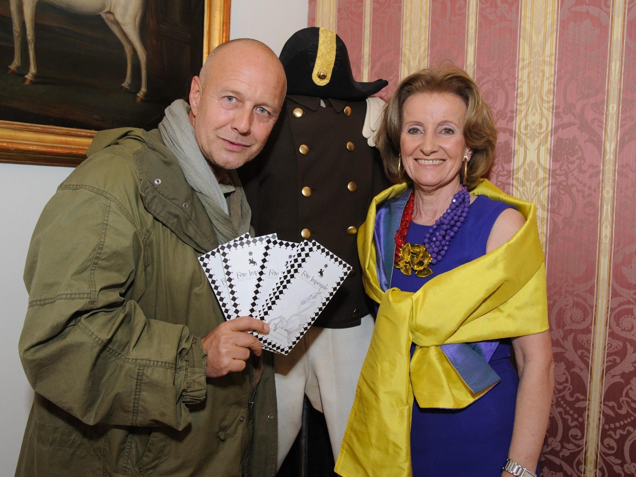 Andi Lackner und Elisabeth Gürtler freuen sich schon auf die Fête Impériale 2012.