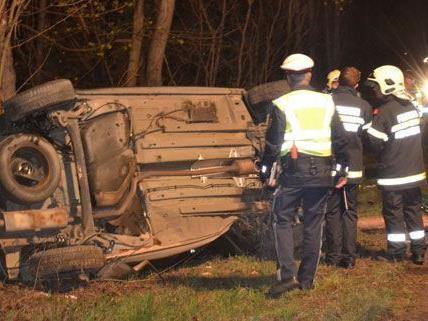 Die Lenkerin hatte auf der B26 plötzlich die Kontrolle über ihr Auto verloren.