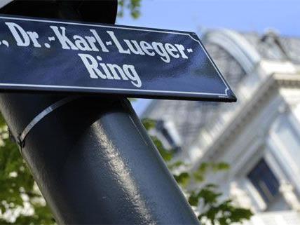 Hin und her ging es im Wiener Gemeinderat in der Causa Lueger-Ring.