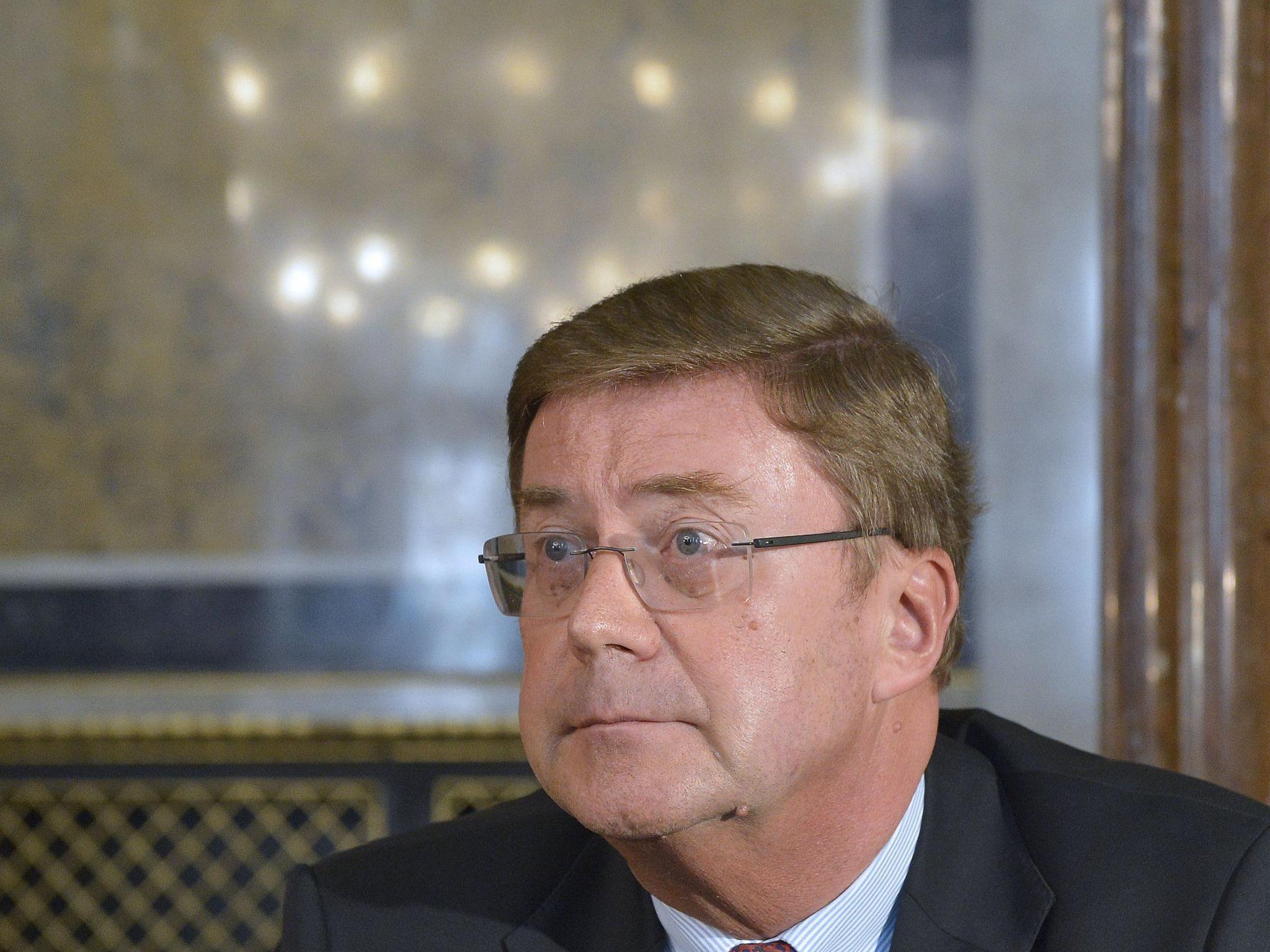 Petrikovics im U-Ausschuss