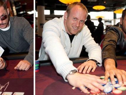 Die Promis gaben alles am Pokertisch.