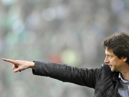 Trainer Peter Schöttel ist zuversichtlich, dass Rapid auch ohne Hofmann Siegeschancen hat.