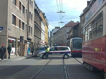 Rettungs- und Polzeieinsatz in Ottakring.
