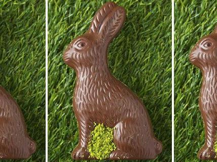 Der Osterhase kommt aus Wien - zumindet der aus Schokolade.