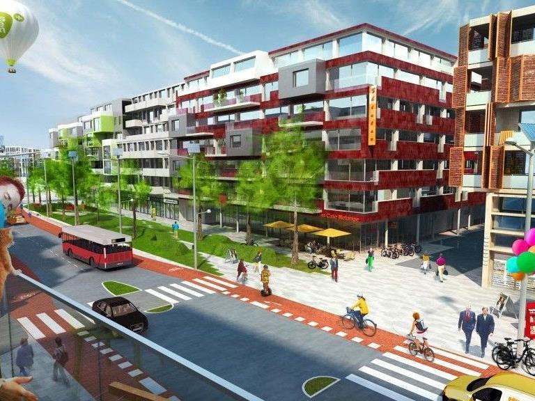 Ab sofort kann man sich für Wohnungen in der Seestadt Aspern vormerken lassen.