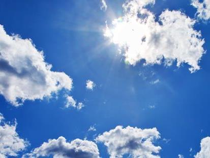 So richtig gut konnte die Sonne auch am Montag scheinen: Neue Wärmerekorde für April!