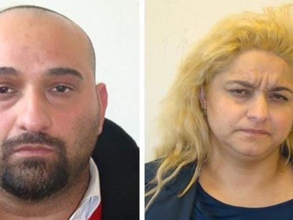 Zwei der vier festgenommenen Trickbetrüger - weitere Opfer sollen sich bei der Polizei melden.