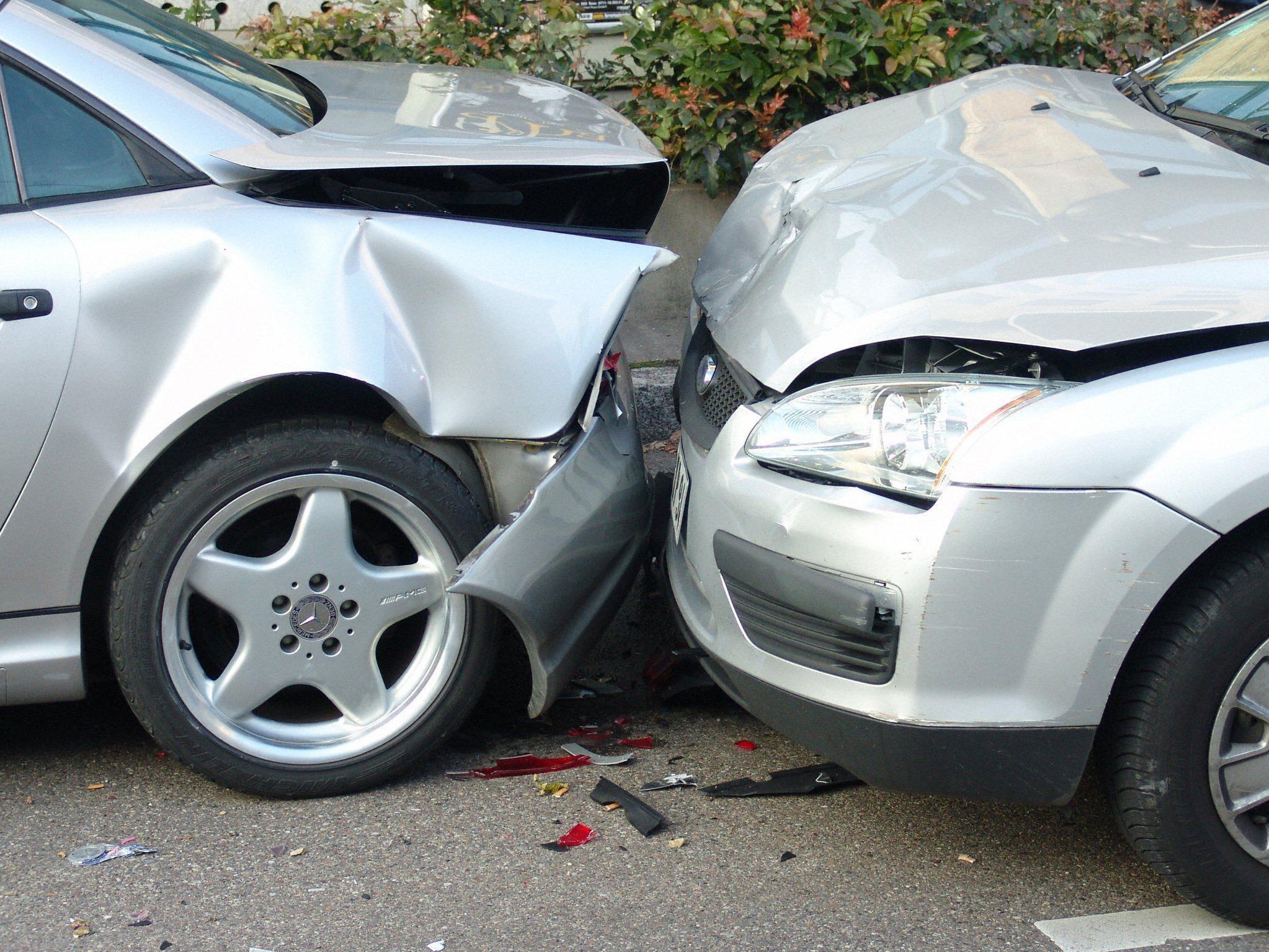 Auffahrunfall sorgte für Verkehrschaos in Favoriten