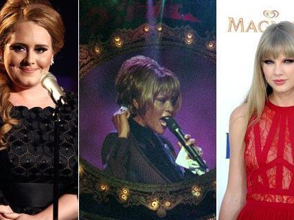 Die Frauen des Abends bei den diesjährigen Billboard Music Awards