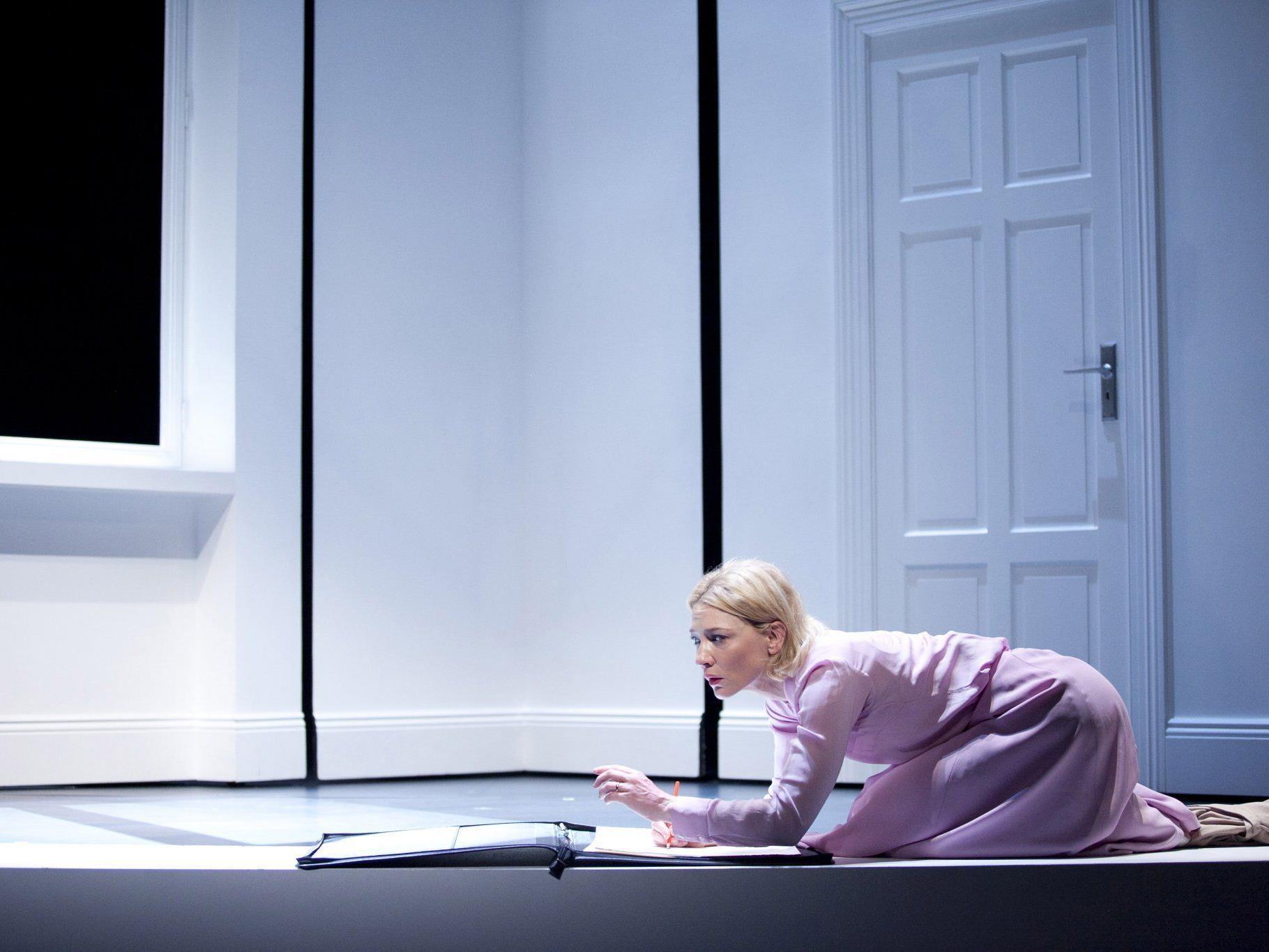 Hollywood-Star Cate Blanchett spielt bei den Wiener Festwochen Theater.