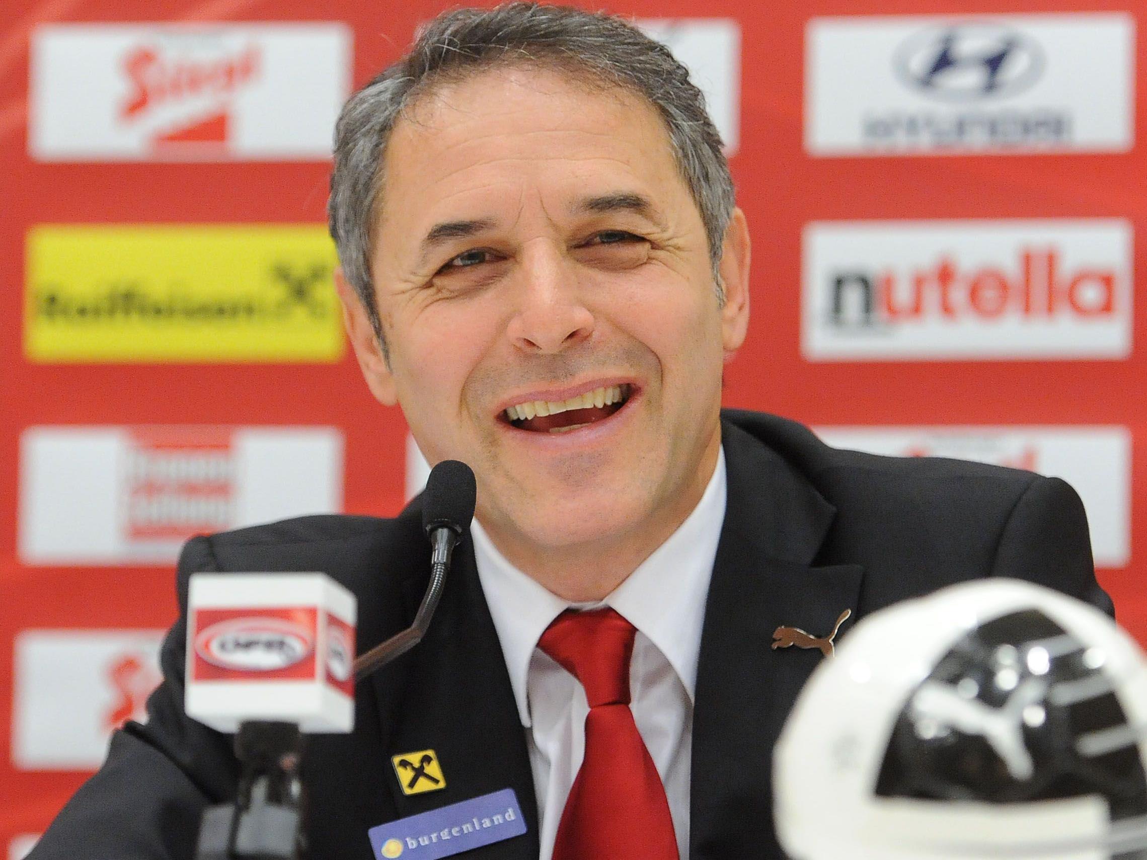 ÖFB-Teamchef Marcel Koller gab am Dienstag seinen neuen Kader bekannt.