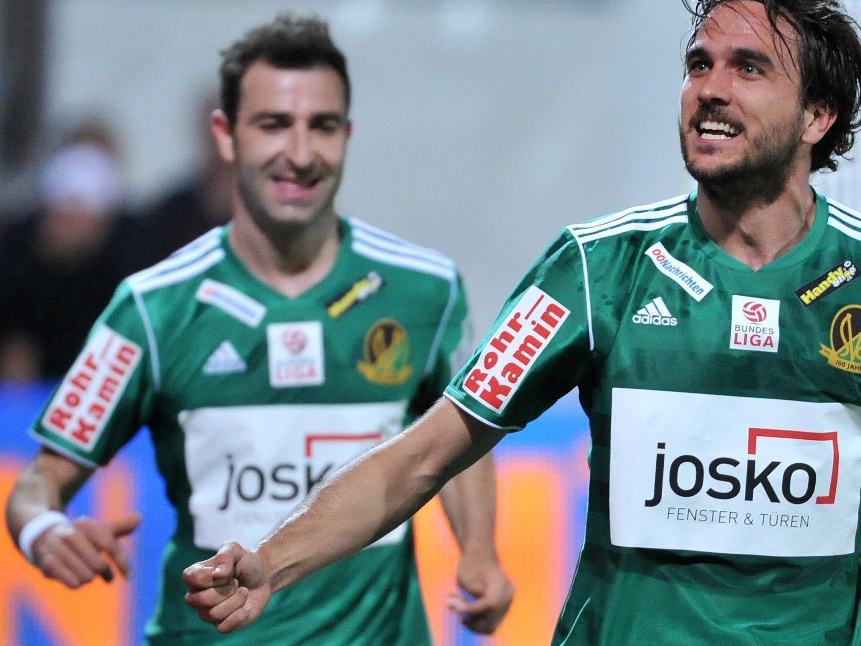 Der SV Ried konnte sich am Mittwochabend gegen die Wiener Austria im Cup-Halbfinale durchsetzen.