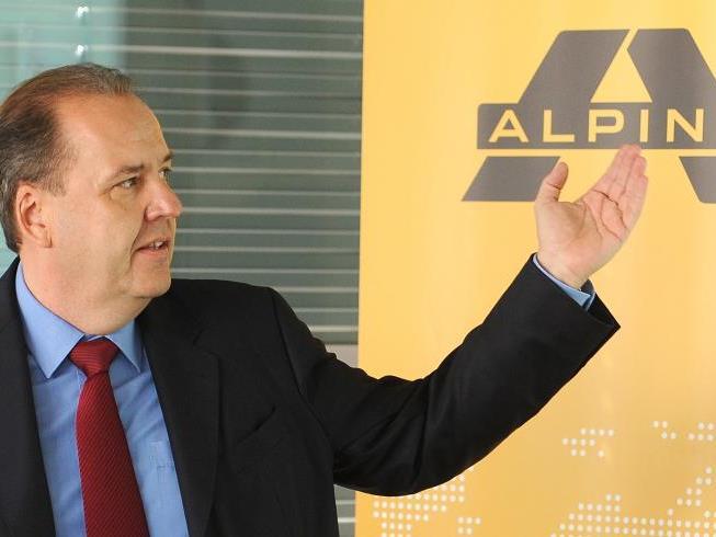 """Alpine-Chef Johannes Dotter geht davon aus, """"dass in den Kernmärkten kein Mitarbeiterabbau notwendig ist""""."""