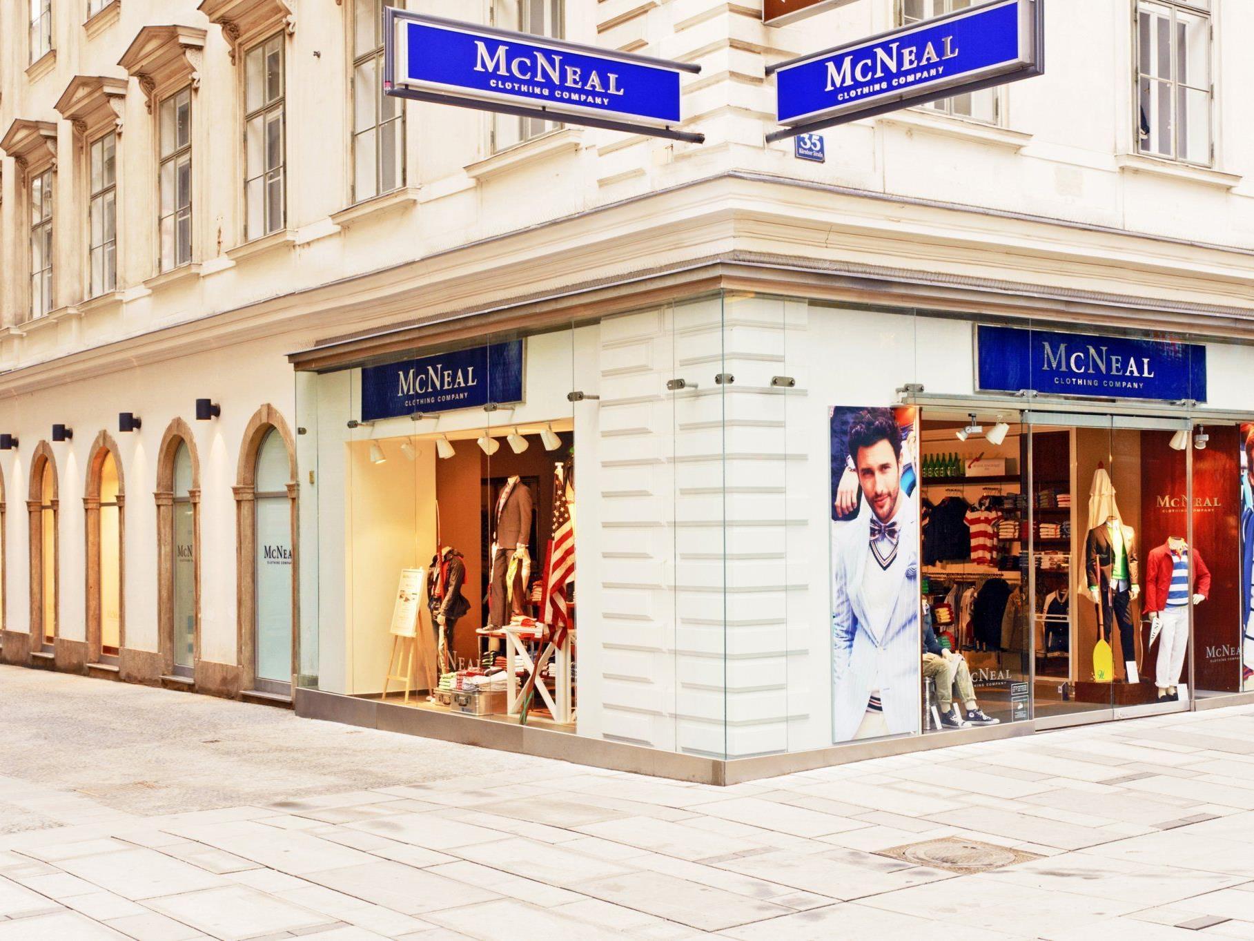 Am Donnerstagabend wurde der McNeal-Flagshipstore auf der Wiener Kärntner Straße eröffnet.