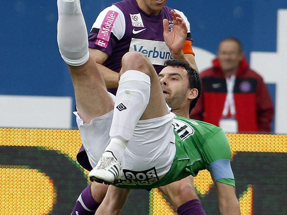 FK Austria Wien - SV Mattersburg: 1:0, aber glücklich.
