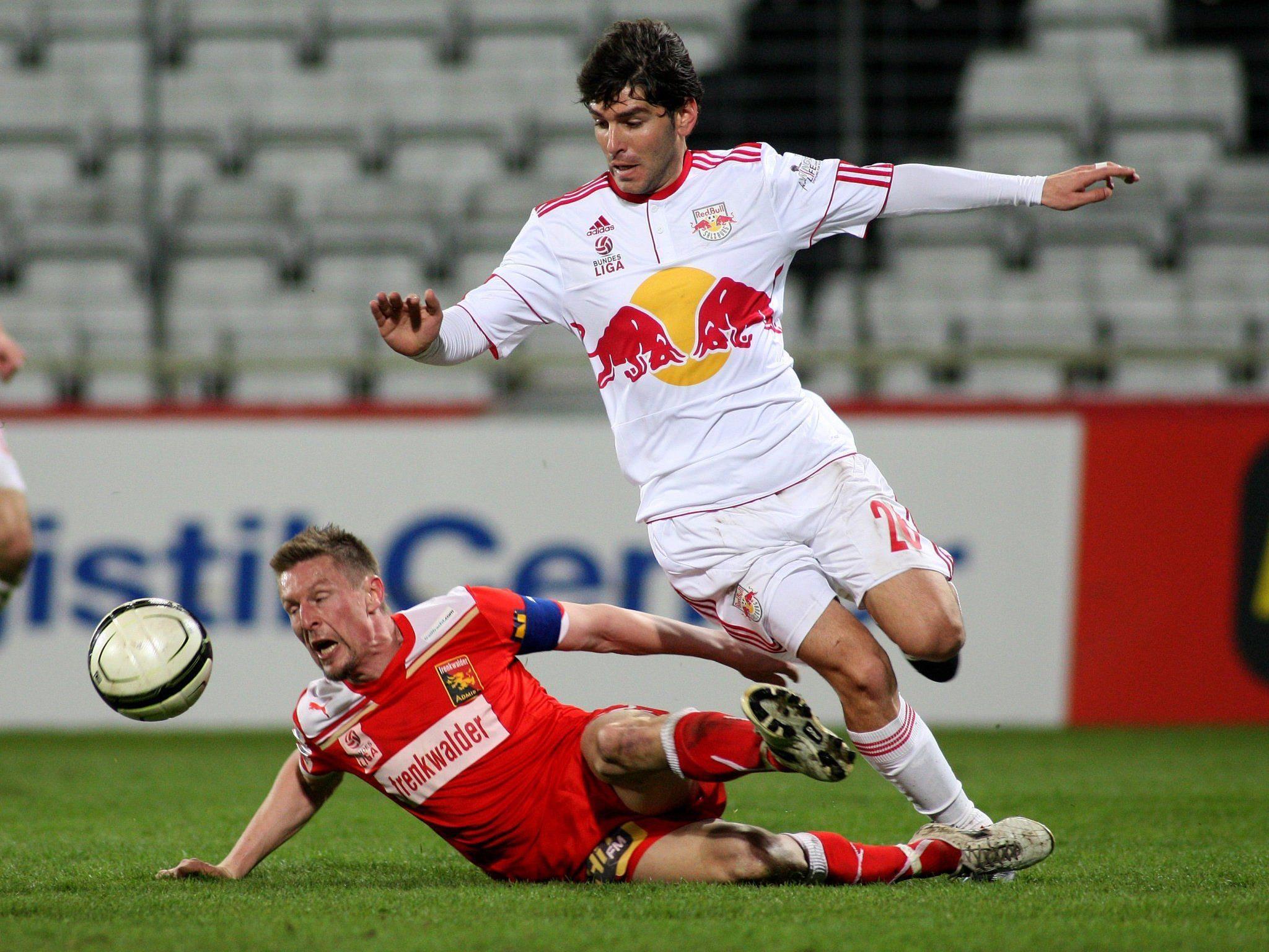 FC Admira - RB Salzburg: Spielbeginn am Donnerstag, 20.05. um 16:00.