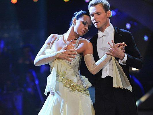 Werden sich Petra Frey und Vadim Garbuzov im Dancing Stars-Finale durchsetzen?