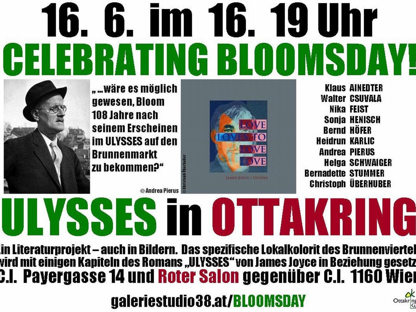 Flyer Bloomsday