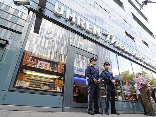 Der jüngste Juwelier-Raub in Wien 3 geschah Dienstagmittag