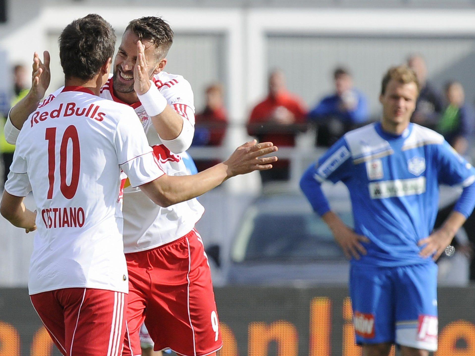 Red Bull Salzburg machte am Sonntag den Meister perfekt.