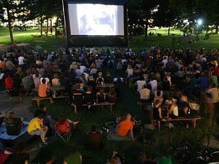 Das Film-Festival Science Fiction im Park zieht Jahr für Jahr Besucherströme an
