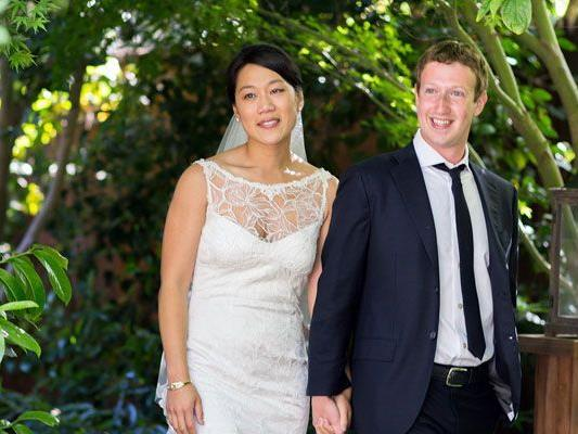 Marc Zuckerberg ehelichte seine längjährige Lebensgefährtin Priscilla Chan.