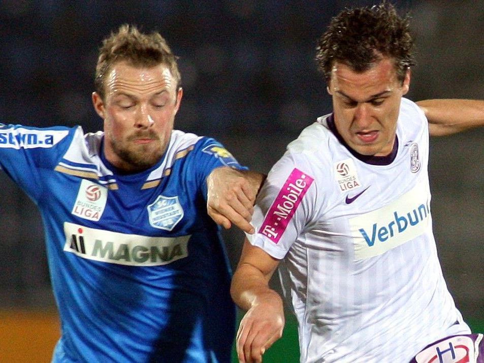 Wir sind ab 20.30 Uhr live vom Match FK Austria Wien gegen SW Wiener Neustadt.