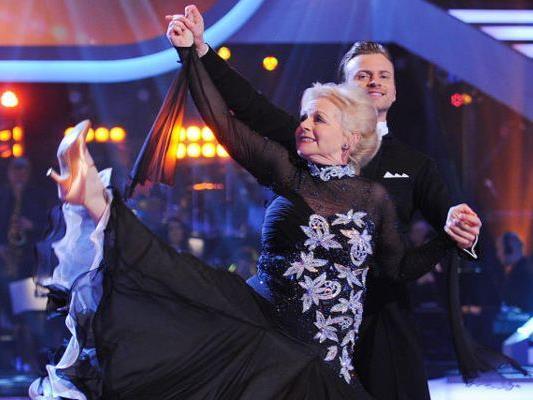 Brigitte Kren hatte sich lange gehalten bei den Dancing Stars, am Ende musste sie aber ausscheiden.
