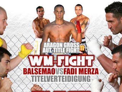 Insgesamt 15 Kämpfe finden bei der Fight Night in den Pratergalerien statt.