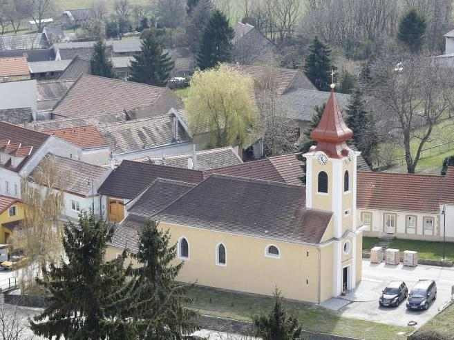 Die Kirche von Stützenhofen