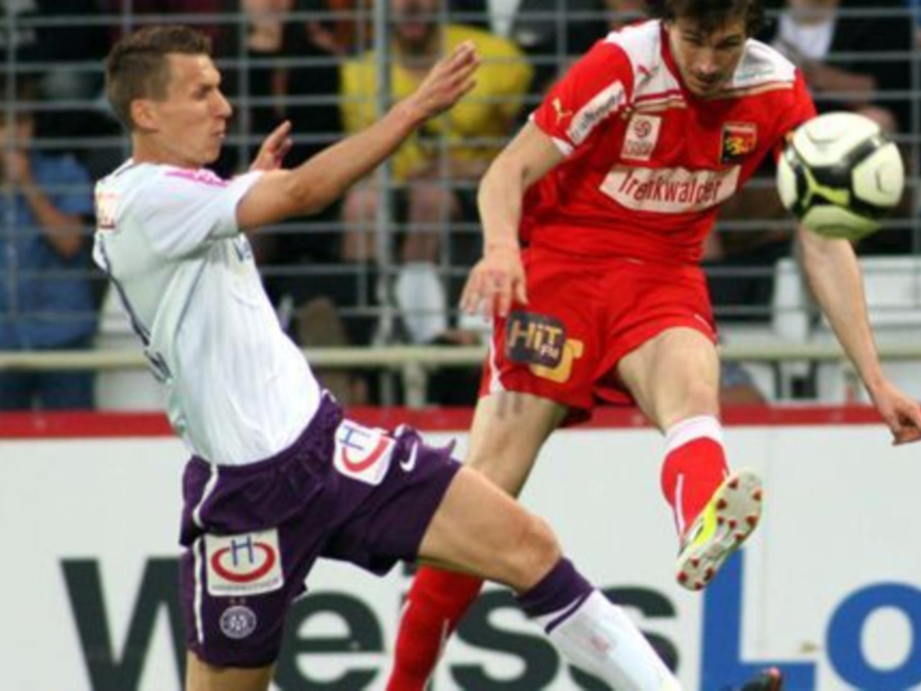 Die Austria musste am Samstag gegen Admira erneut eine Schlappe in Kauf nehmen.