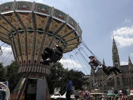 Wiens größter Kirtag findet vom 25. bis 28. Mai auf dem Rathausplatz statt.
