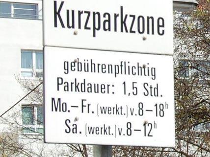 Für Kontrolleure ist schwer ersichtlich, wie lange ein Car-Sharing-Auto schon in der Kurzparkzone steht.