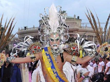 Die Gäste lassen sich ihren Aufenthalt beim Life Ball in Wien etwas kosten - im Vorjahr wurden rund um das Event Millionen ausgegeben.
