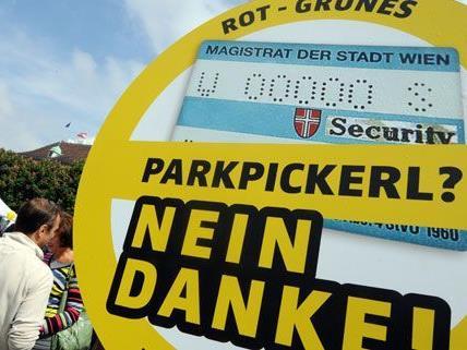 """Anscheinend sagt nicht nur die ÖVP Wien """"Nein, Danke!"""" zum Parkpickerl, sondern auch der ARBÖ."""