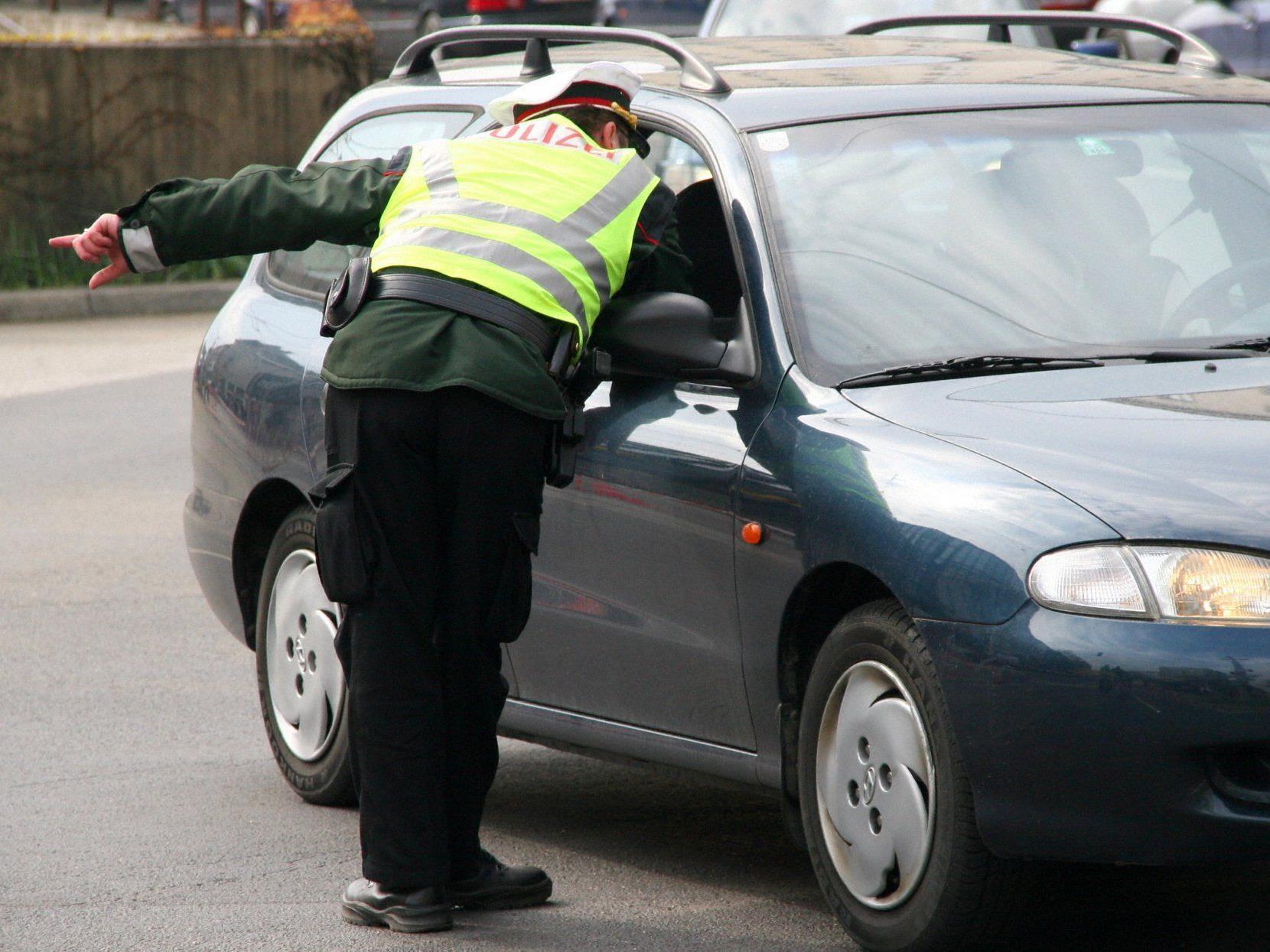 Am Pfingstwochenende verstärkte die Wiener Polizei ihre Verkehrskontrollen.