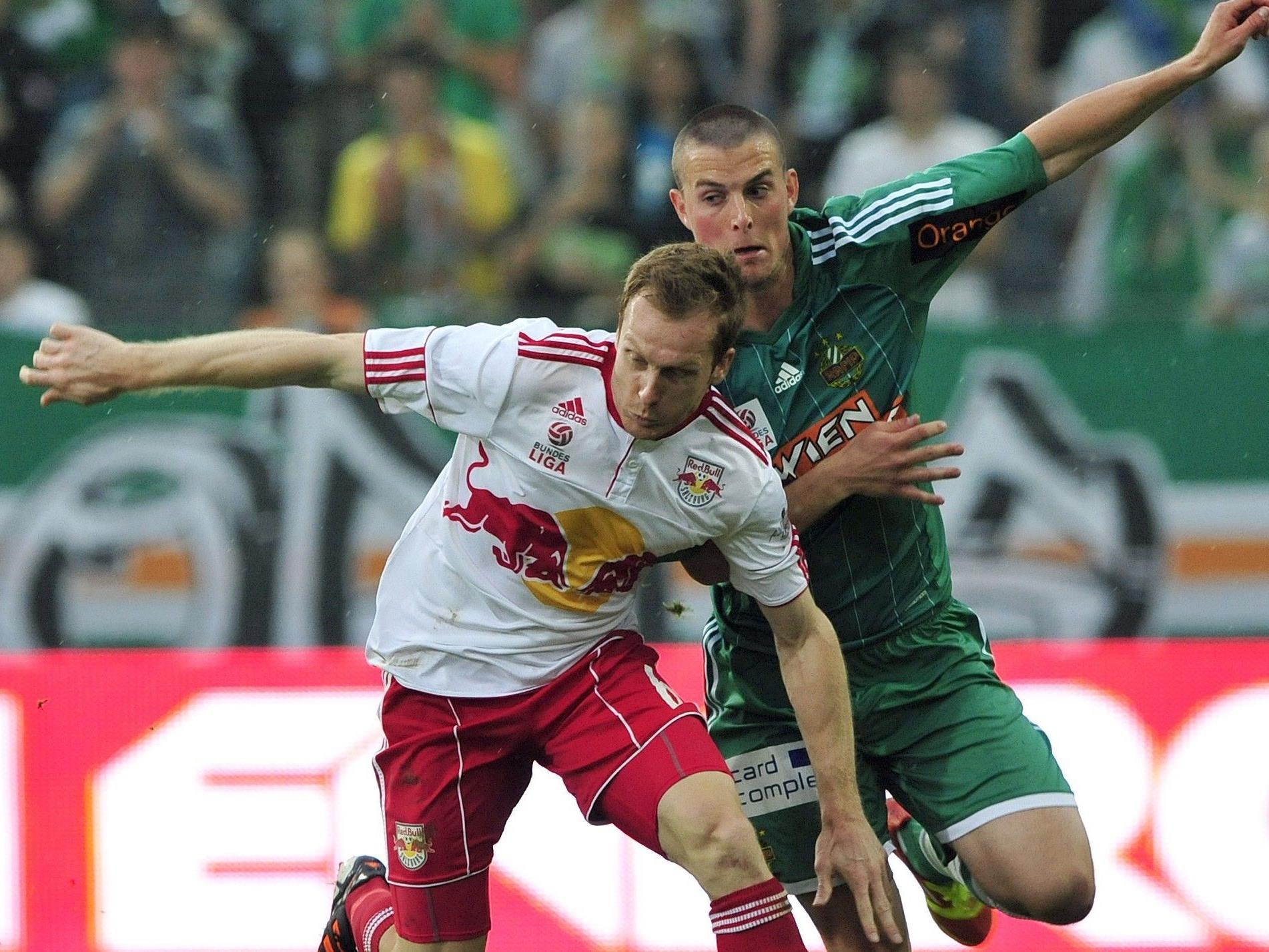 Salzburg konnte das Schlagerspiel gegen Rapid Wien für sich entscheiden.
