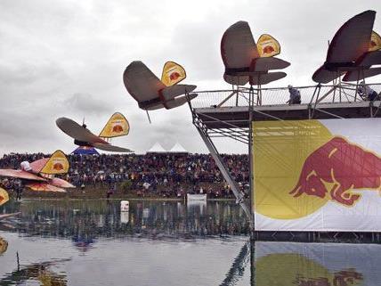 Am 23. September 2012 findet zum achten Mal der Red Bull Flugtag auf der Donauinsel statt.