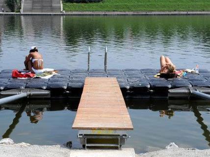Nicht nur sonnen und chillen, auch gratis surfen kann man bald auf der Donauinsel.
