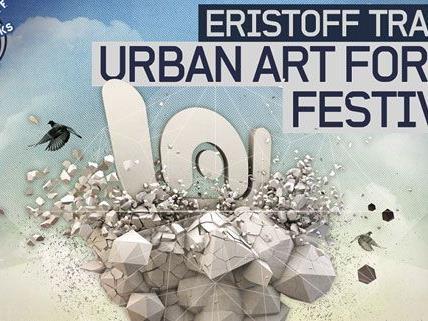 Das Eristoff Tracks URBAN ART FORMS Festival zieht in die Steiermark