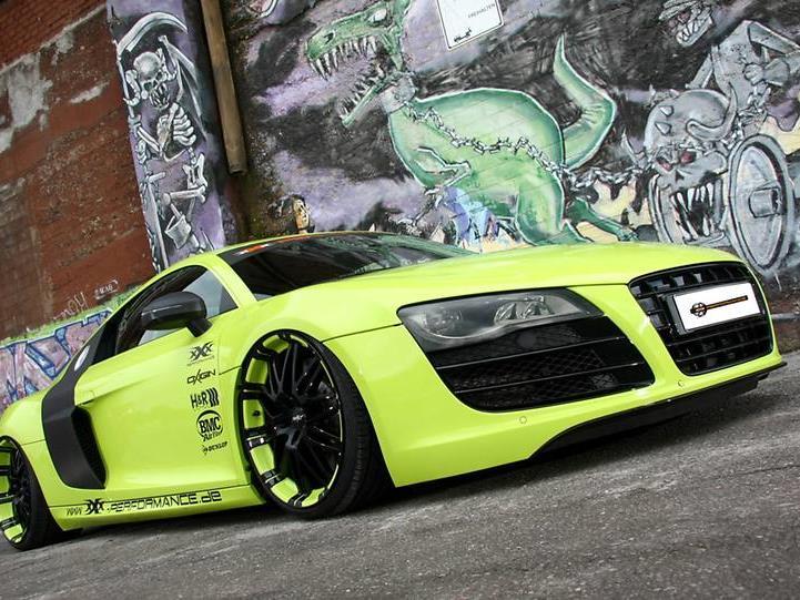 XXX-Performance macht den Audi R8 5.2 V10 flotter und farbiger