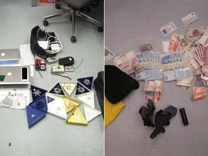 Polizei kärt 9 Einbrüche in Niederösterreich und Wien