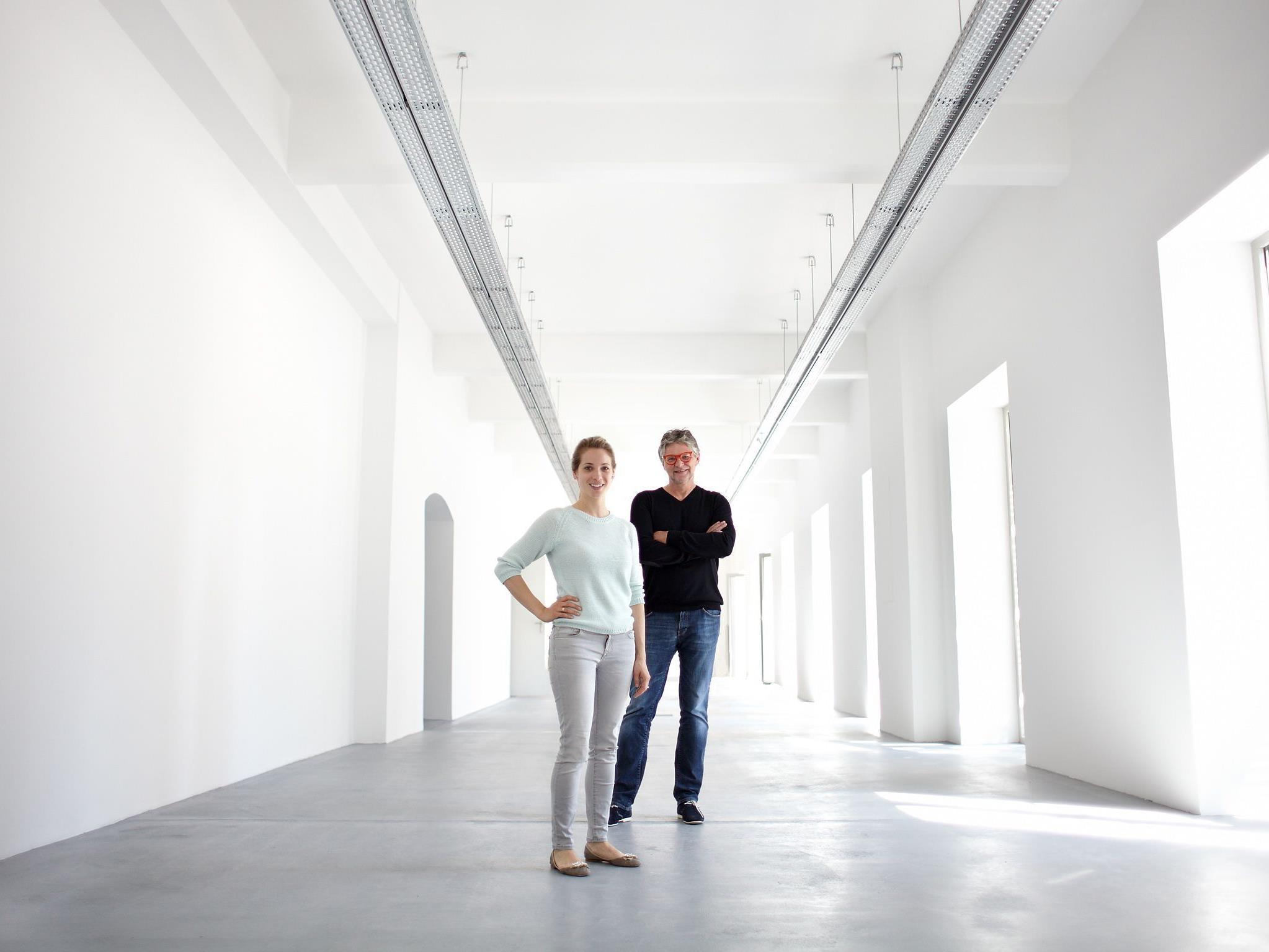 Peter Coeln und Verena Kaspar-Eisert im OstLicht