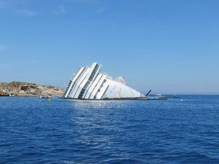 Bilder der Costa Concordia