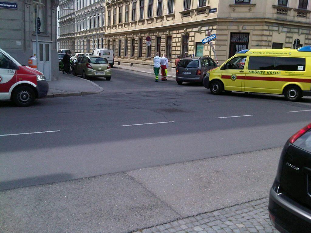 Zu einem Verkehrsunfall ist es in Wien-Meidling gekommen