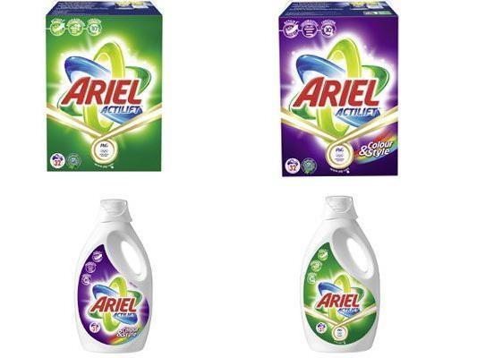 Bei unserem großen Gewinnspiel können Sie einen Jahresbedarf Ariel-Waschmittel gewinnen!