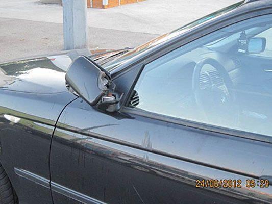 In Simmering wurden die Seitenspiegel mehrerer Autos demoliert