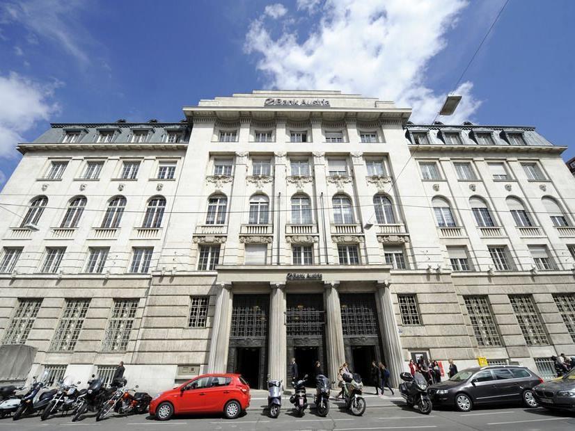Die historische Zentrale der Bank Austria steht zum Verkauf