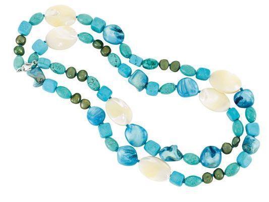 Dieses wunderschöne sommerliche Collier vom Dorotheum Juwelier können Sie gewinnen!
